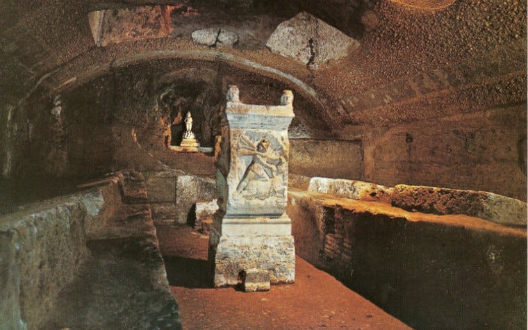 Crypts and Roman Catacombs Small-Group Walking Tour