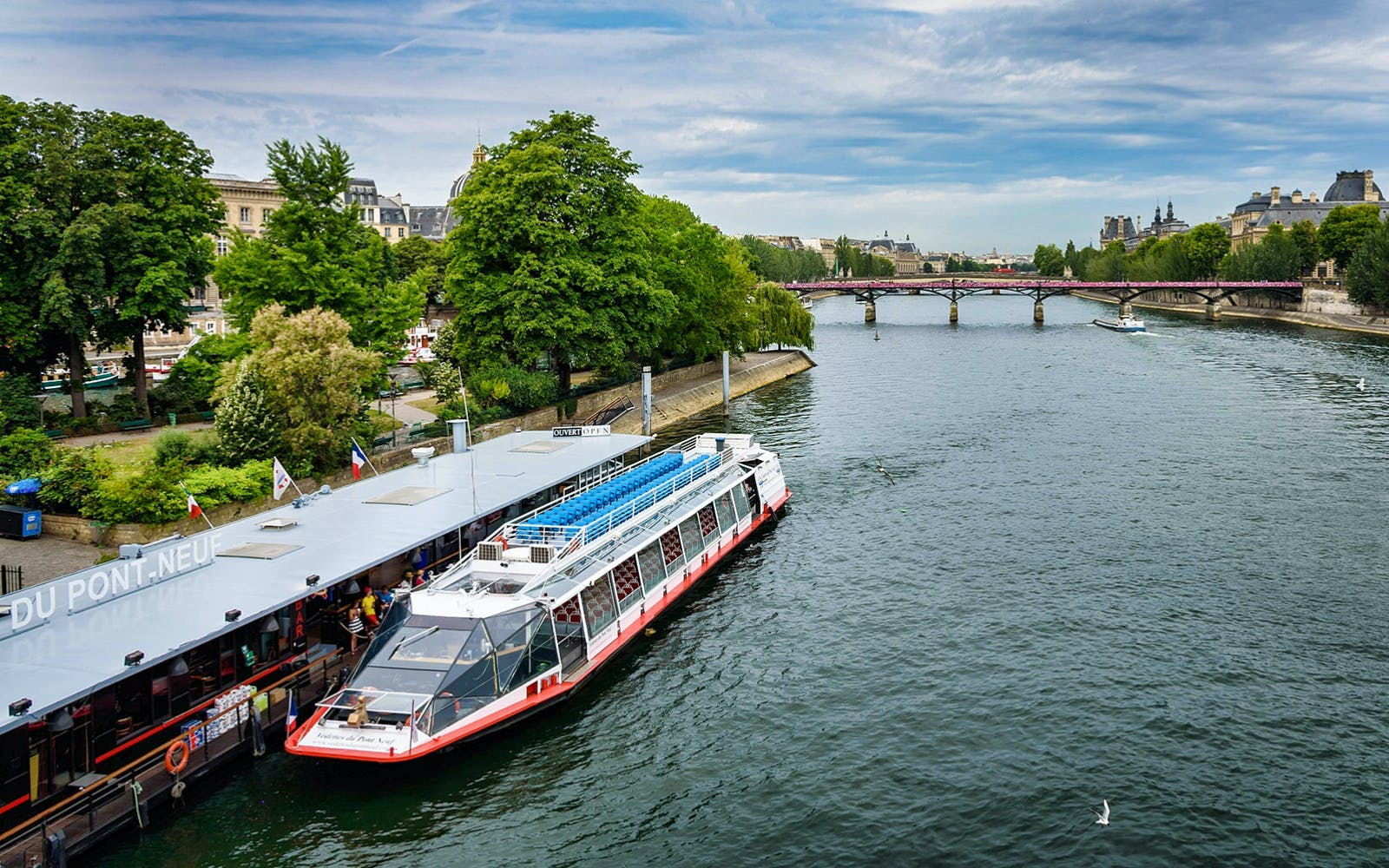 lunch at the eiffel tower, paris city tour & seine cruise with transportation-2