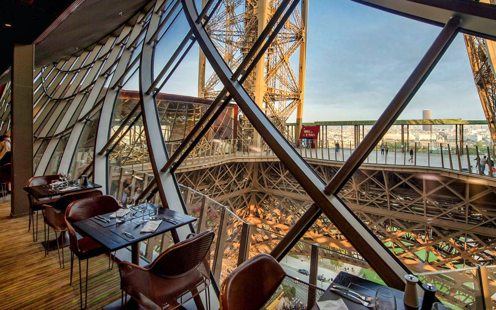 lunch at the eiffel tower, paris city tour & seine cruise with transportation-5