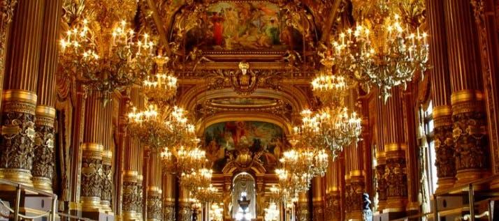 paris in january - palais garnier