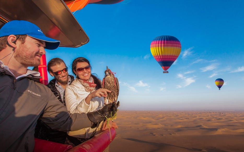 hot air ballon dubai with breakfast-1