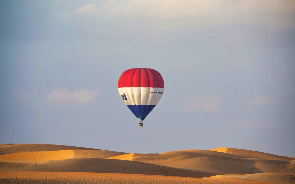 hot air ballon dubai with breakfast-1