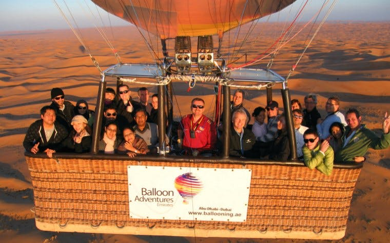 Hot Air Balloon- Large Charter