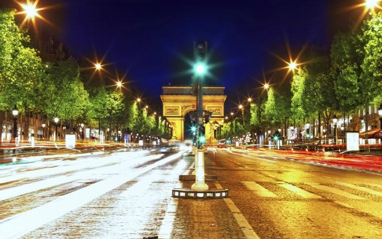 City Tour at Night and Seine River Cruise