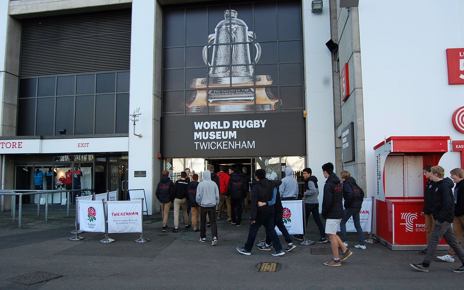 Twickenham Stadium & World Rugby Museum - Behind the Scenes Tour