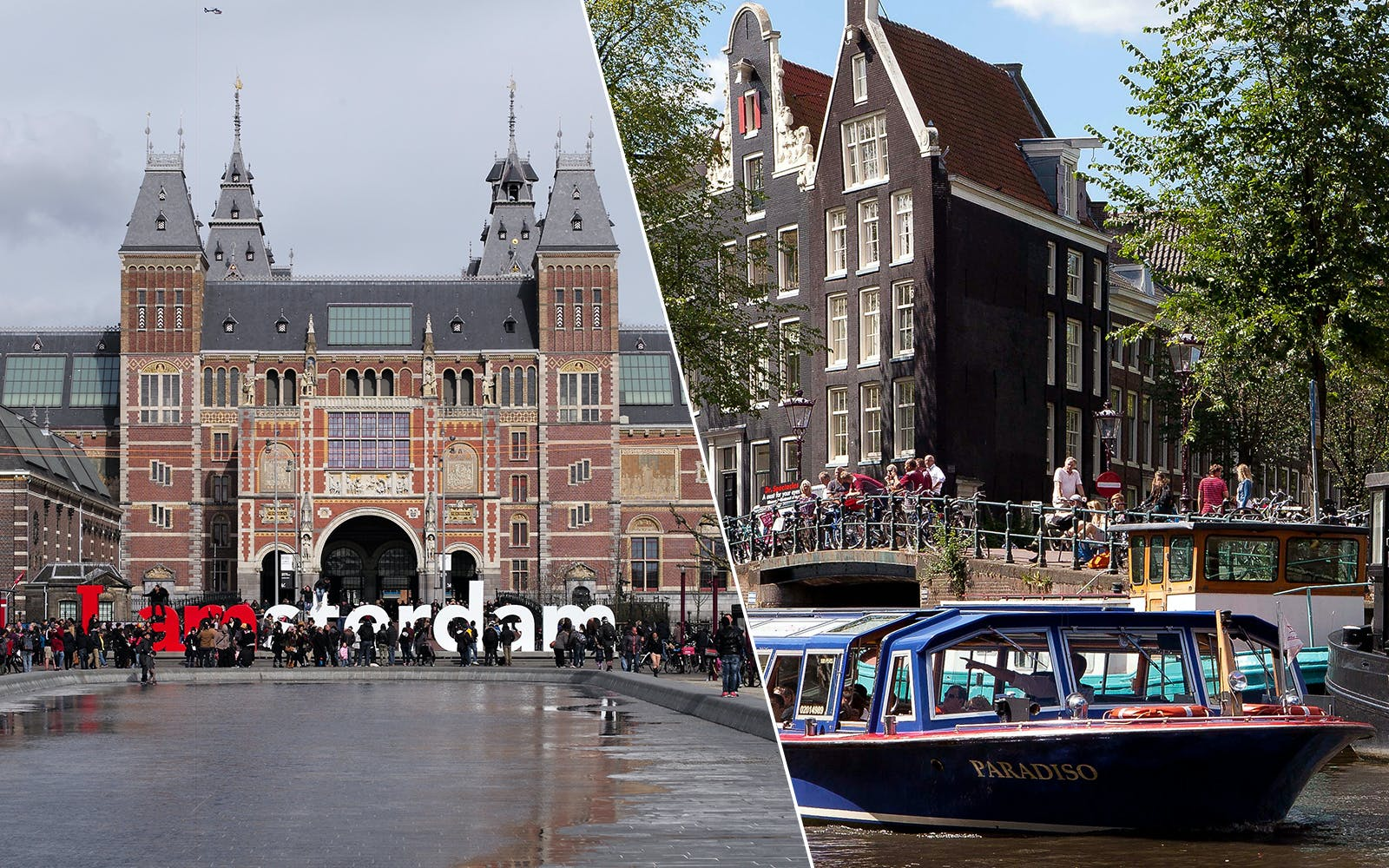 Saver Combo - Canal Cruises & Rijksmuseum Direct Entry