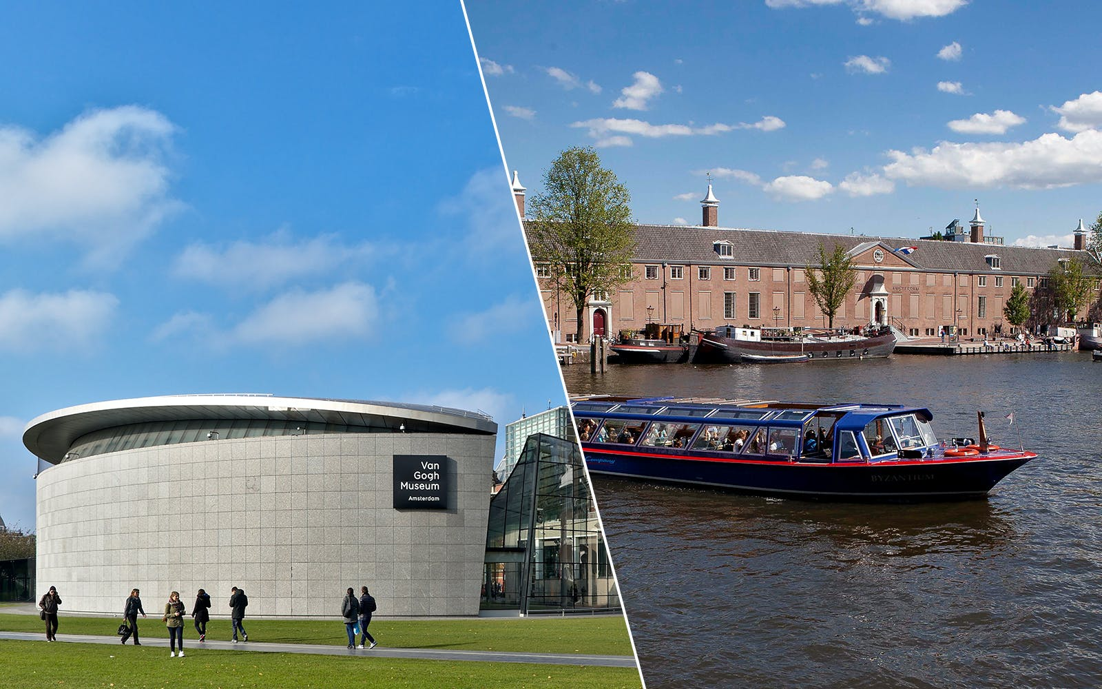 City Canal Cruise & Van Gogh Museum Direct Entry