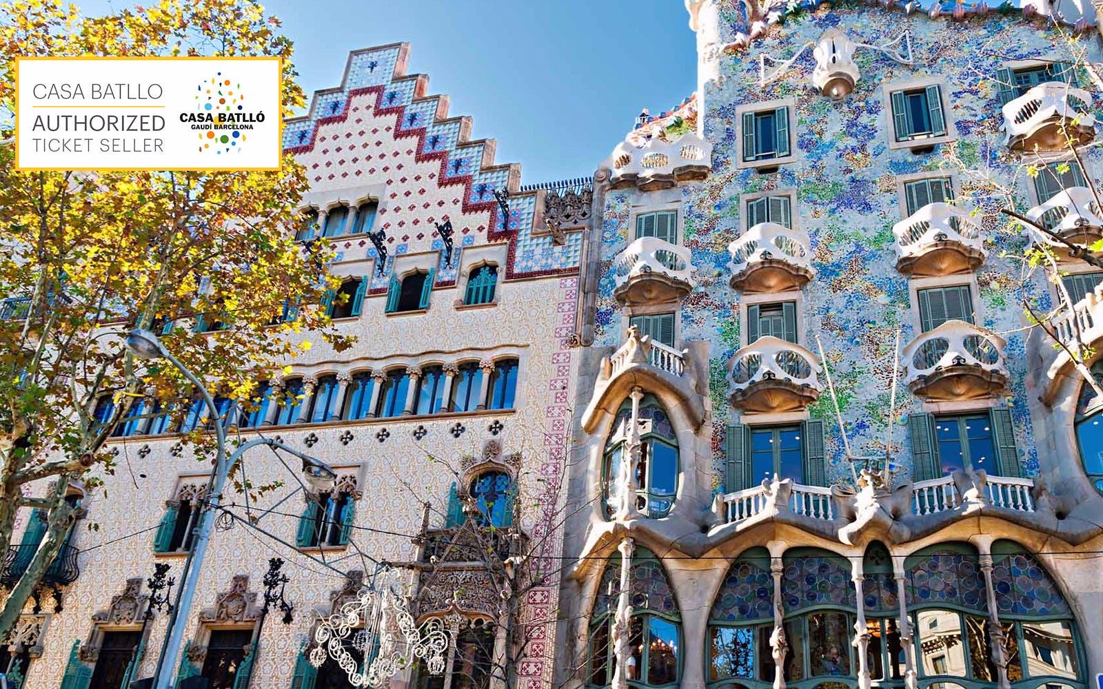 gaudi barcelona buildings - casa batllo