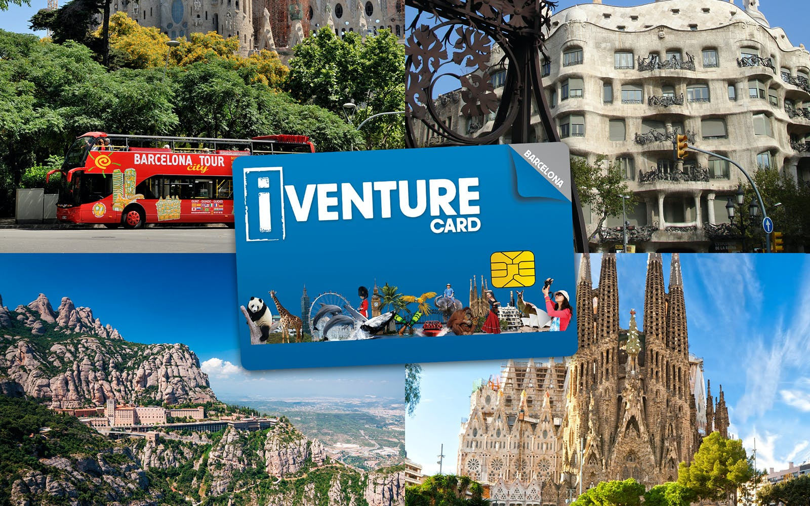 Barcelona iVenture Multi Attraction Pass