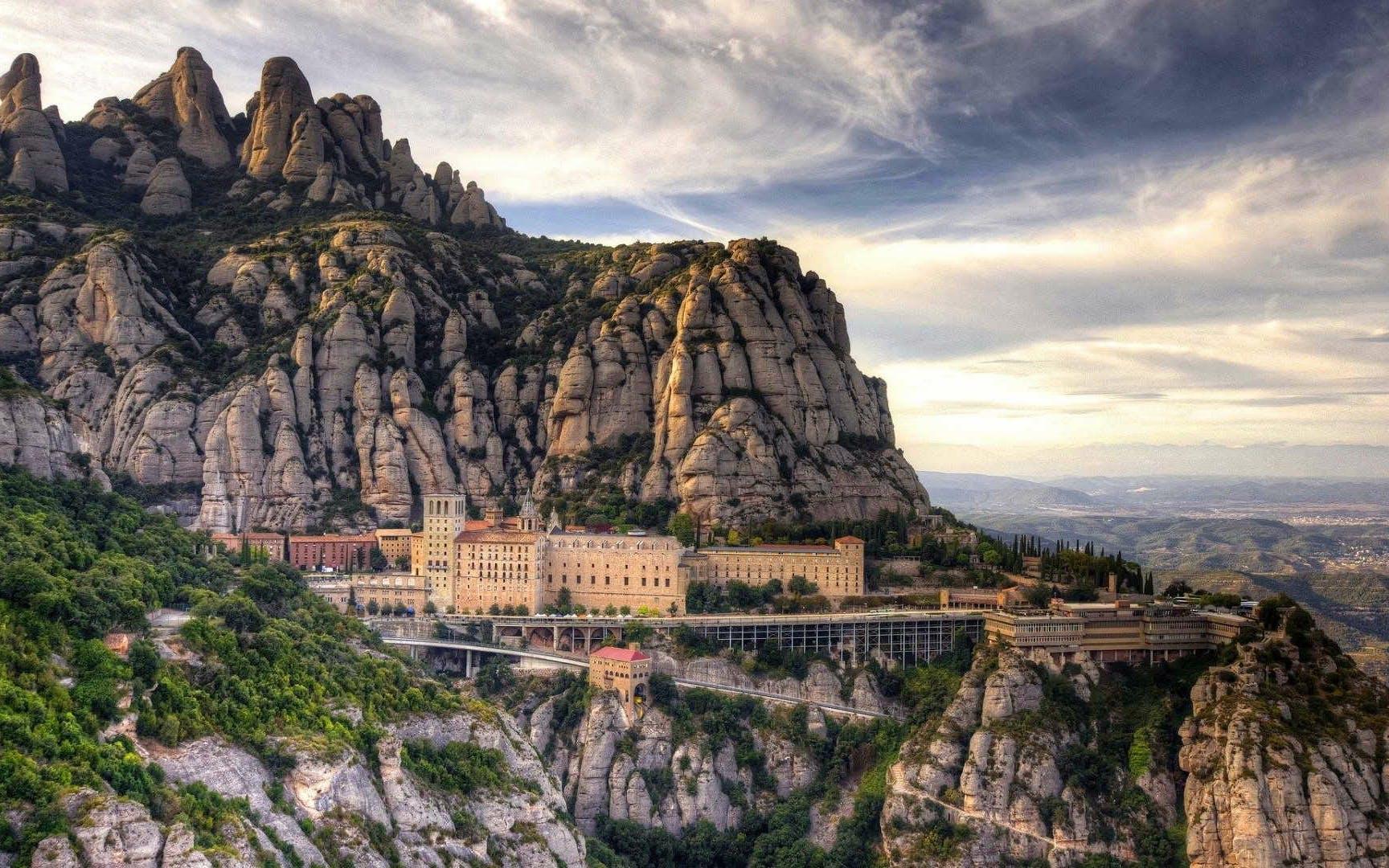 Montserrat from Barcelona