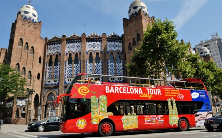 barcelona city tour: 1 or 2 day hop-on-hop-off tour-1