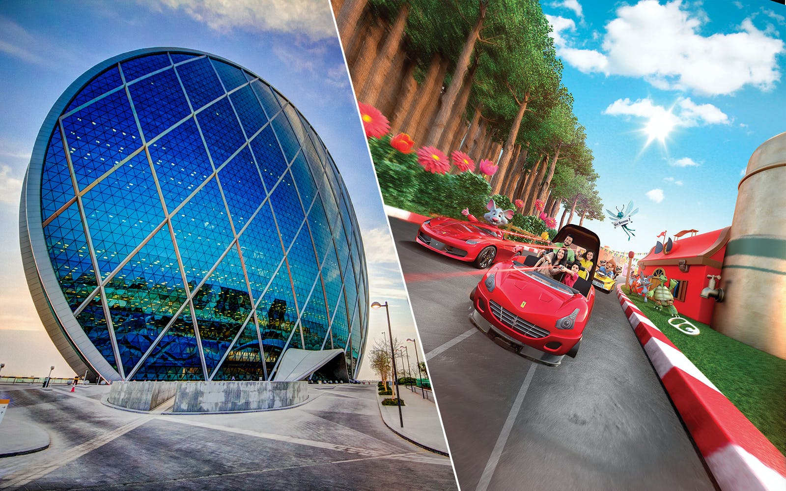 Abu Dhabi City Tour & Ferrari World Combo
