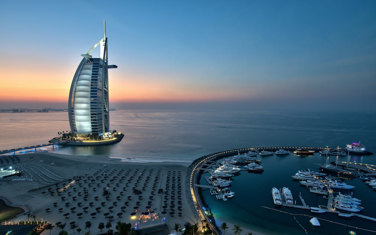 evening drinks at the burj al arab -1