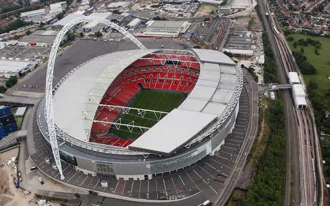 London in 3 days - Wembley Stadium