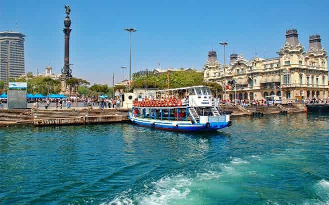 Barcelona in 5 days - Las Golondrinas De Barcelona cruise