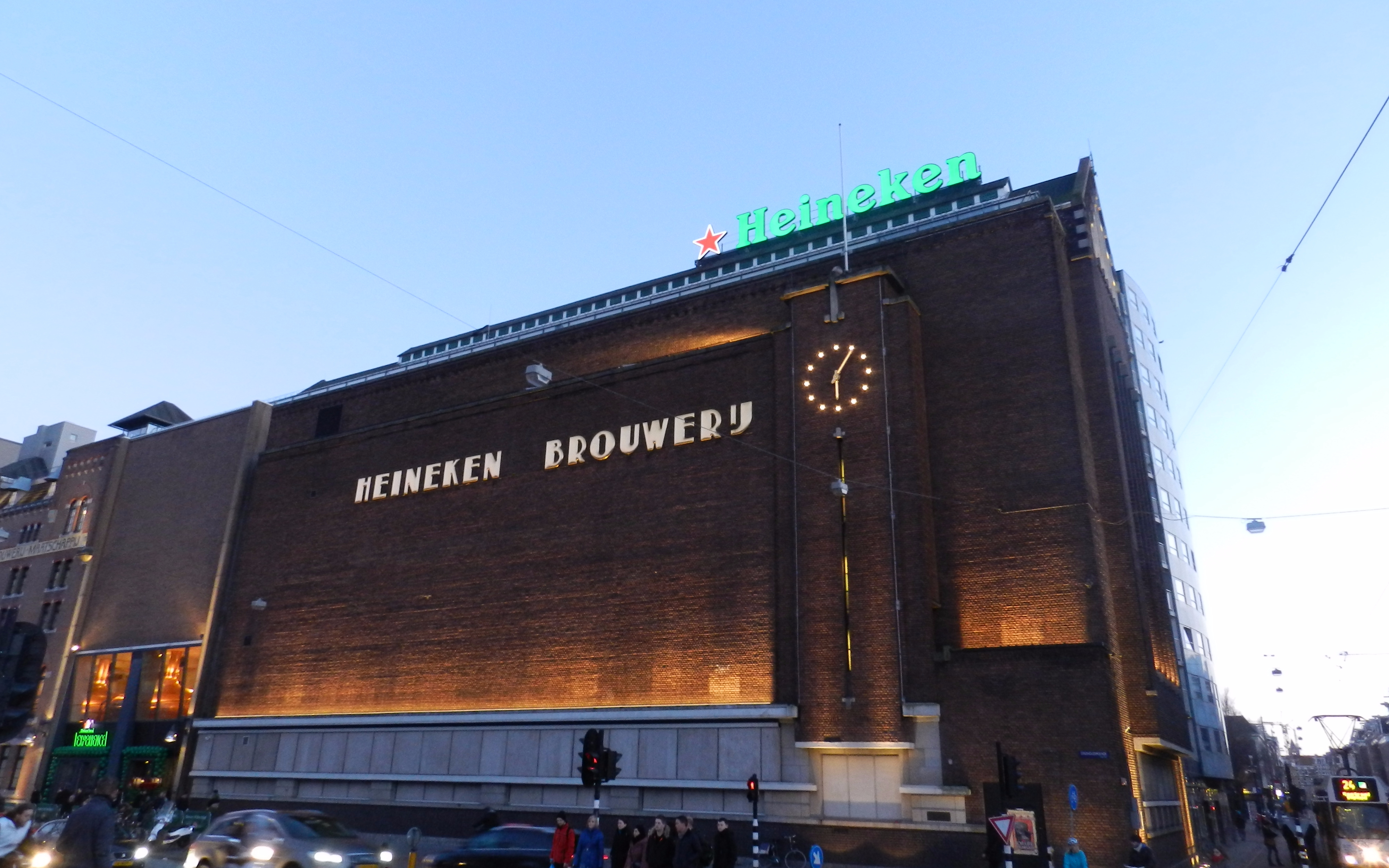 Heienken Tour Amsterdam