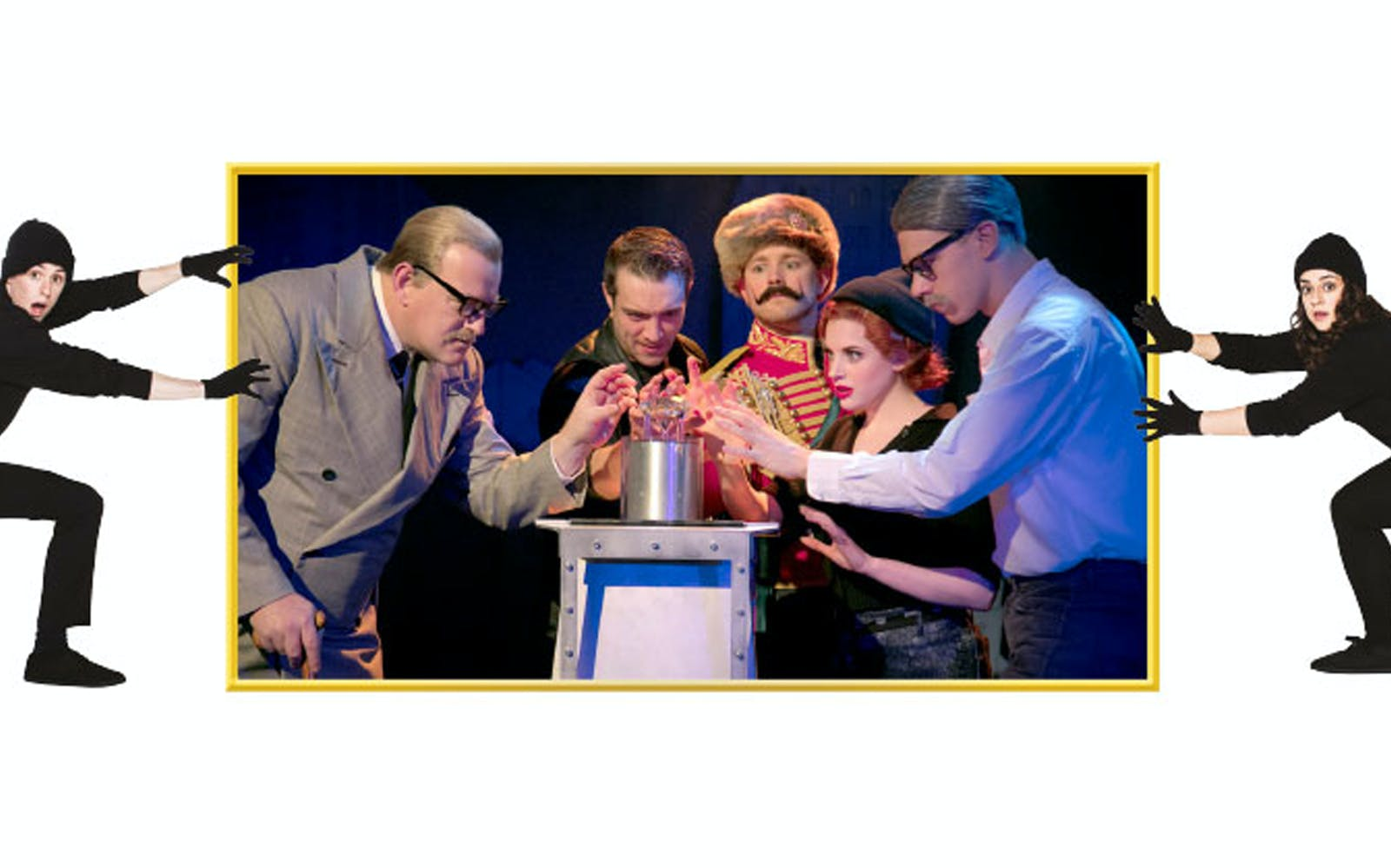 Criterion theatre - The Comedy About A Bank Robbery