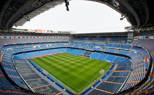 Tour do Estádio Santiago Bernabéu