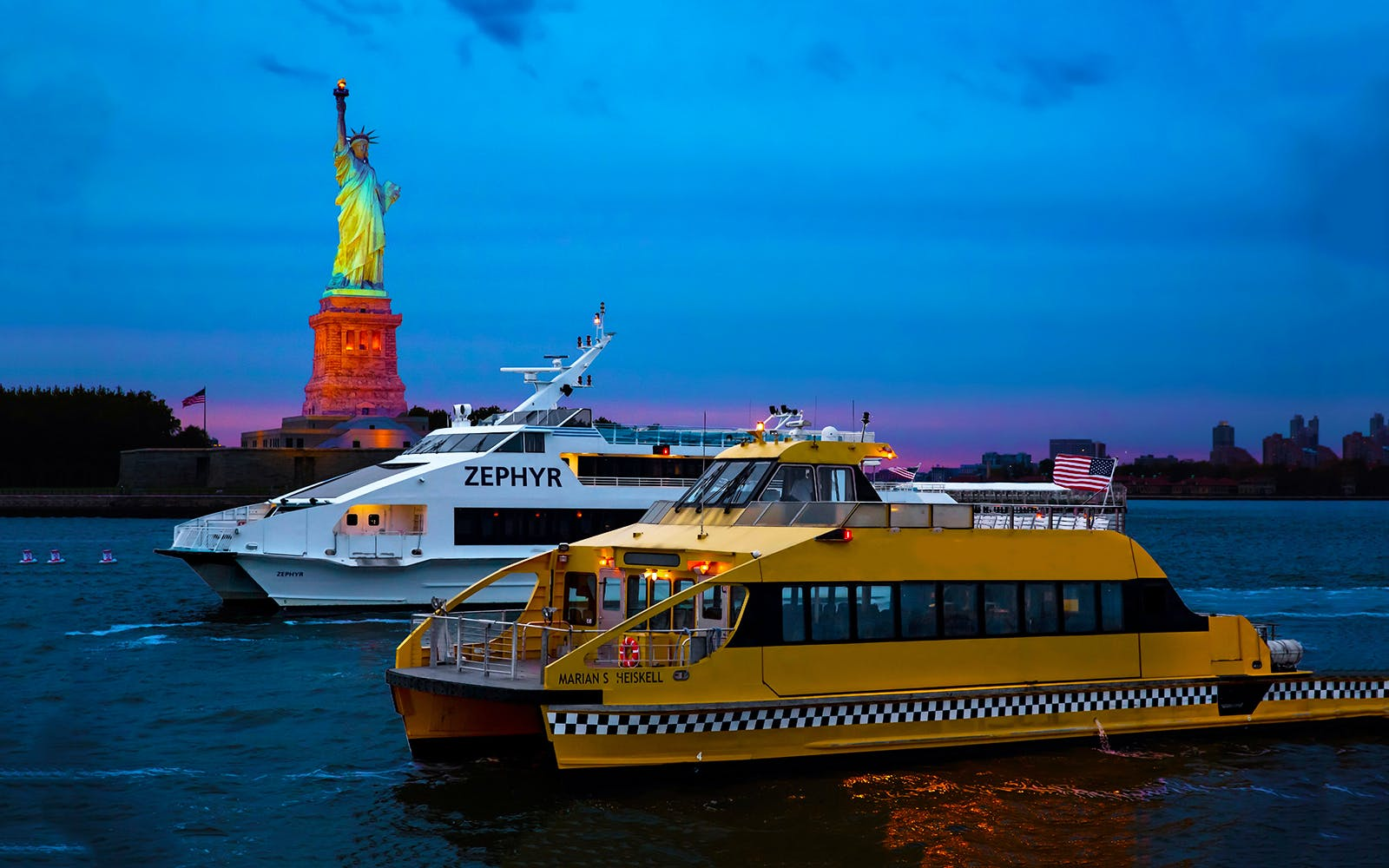 Statue of Liberty Night Cruise