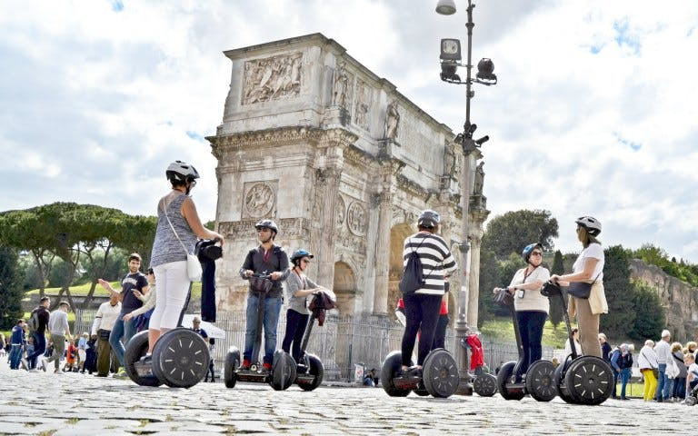 Small-Group Ancient Rome Tour by Segway