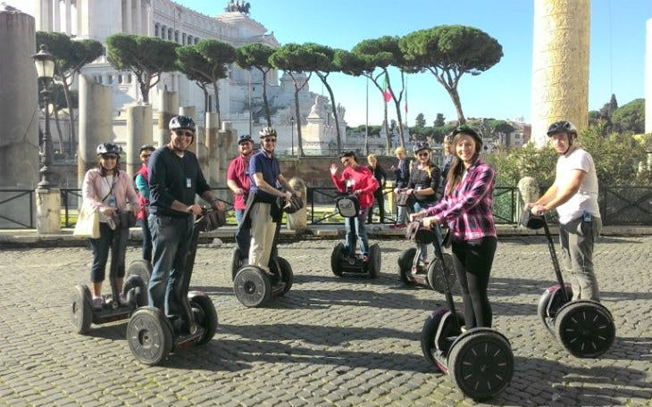 small-group ancient rome tour by segway-2