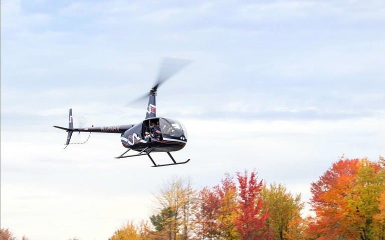 Fall Foliage Helicopter Tour over Hudson Valley