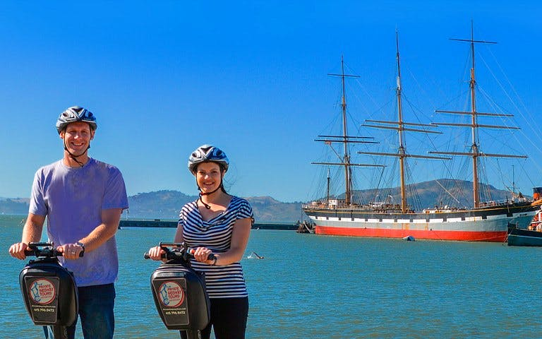 Private Wharf, Waterfront & Hills Segway Tour