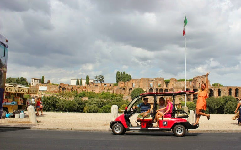 rome parks golf cart tour with borghese gallery-1