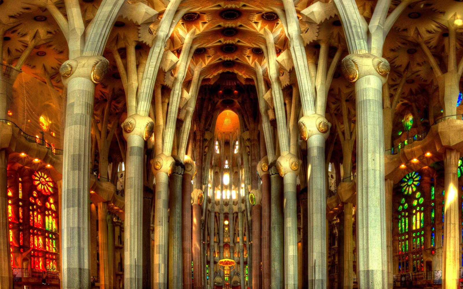 gaudi barcelona buildings - sagrada familia - 3
