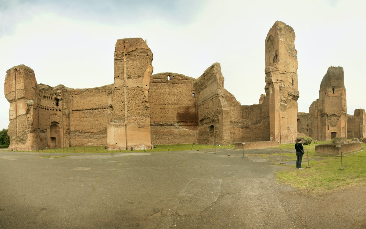 thermae of caracalla: ancient rome tour-2