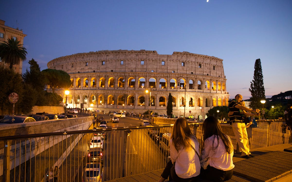 vip colosseum night tour with underground & arena floor-2