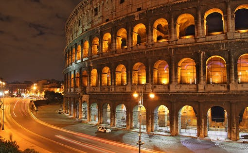 VIP Colosseum Night Tour with Underground & Arena Floor