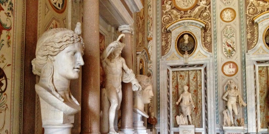 rome in november-Borghese Gallery