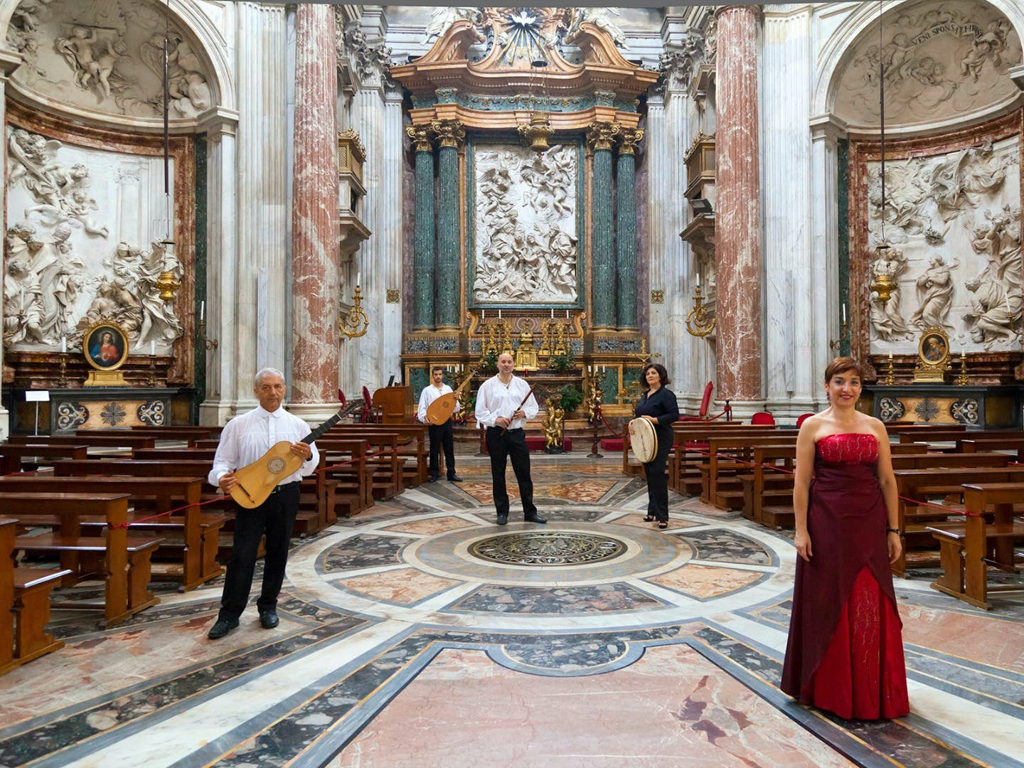 rome baroque concert and tour of church of sant'agnese in agone-1