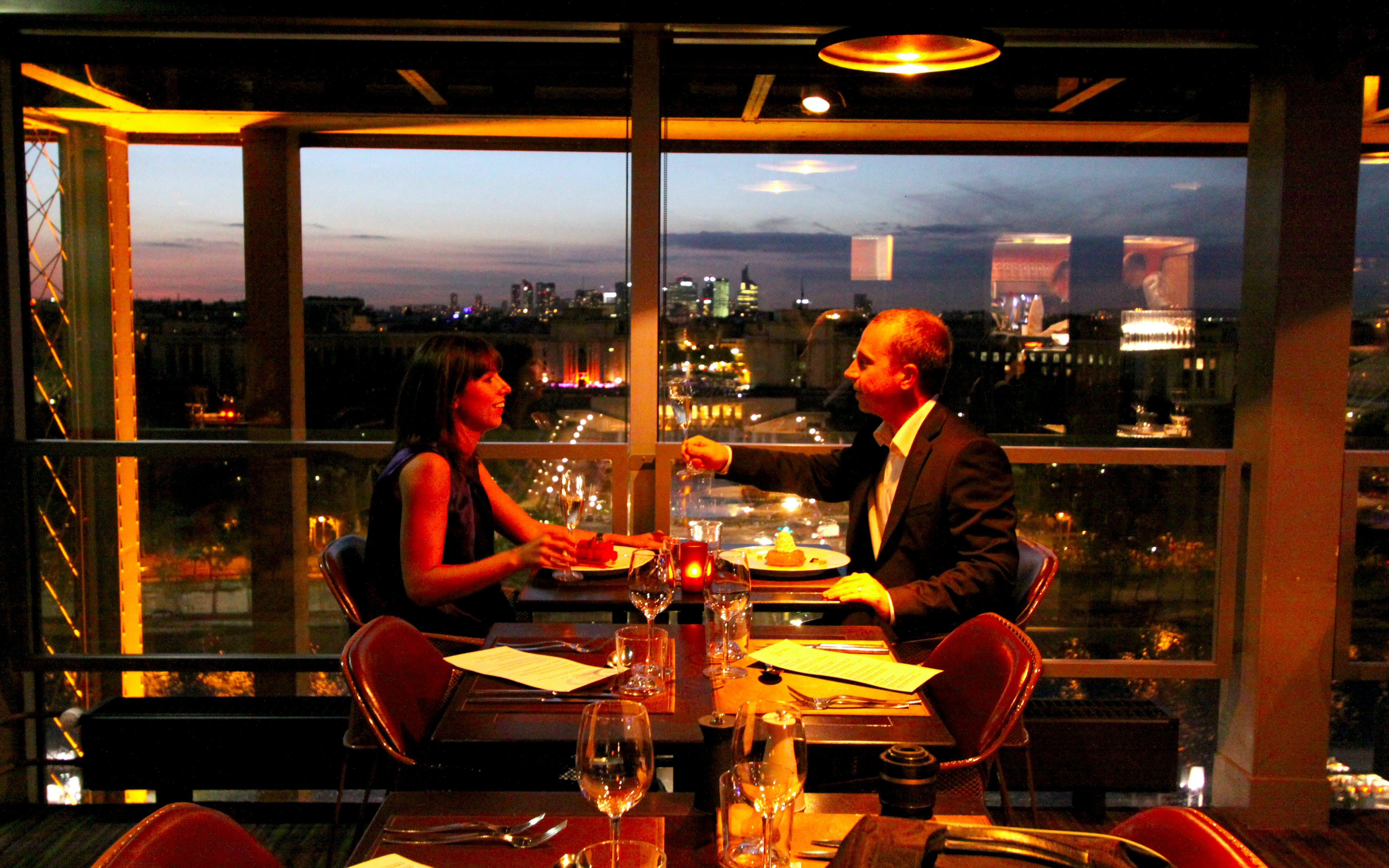 Eiffel Tower Restaurants
