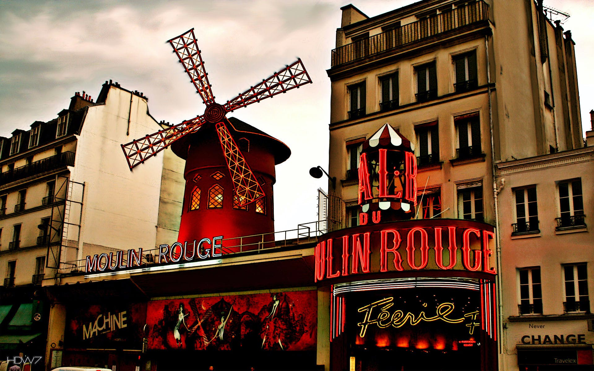 moulin rouge show and dinner with hotel transfers -4