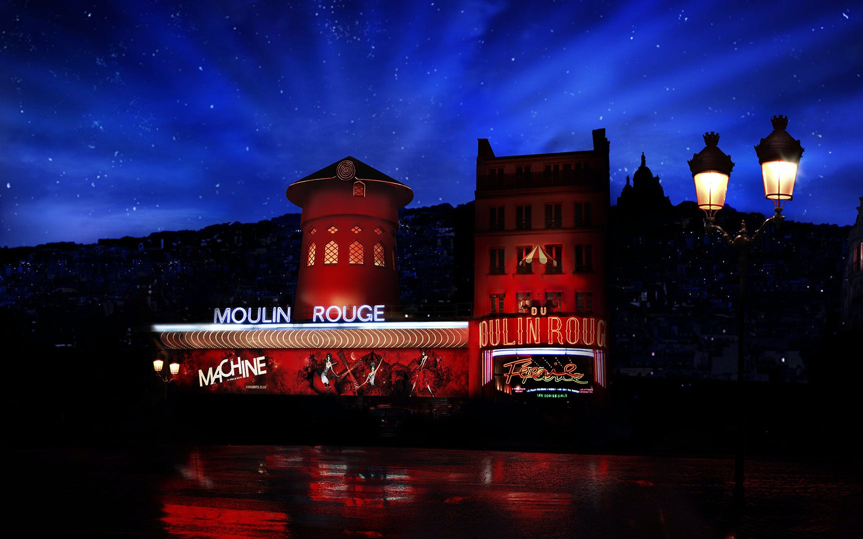 moulin rouge show and dinner with hotel transfers -3
