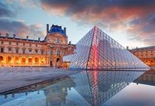 Paris City Vision Louvre Museum