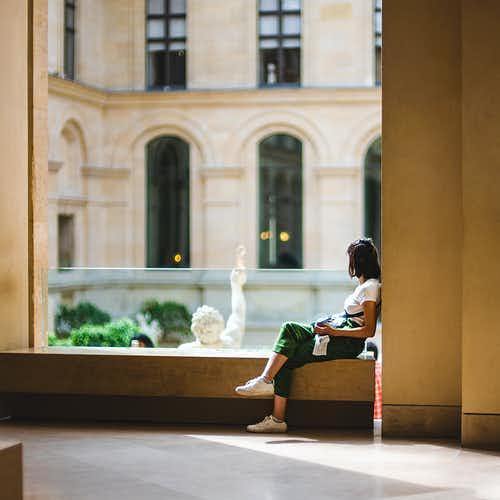 Inside Louvre- Artworks