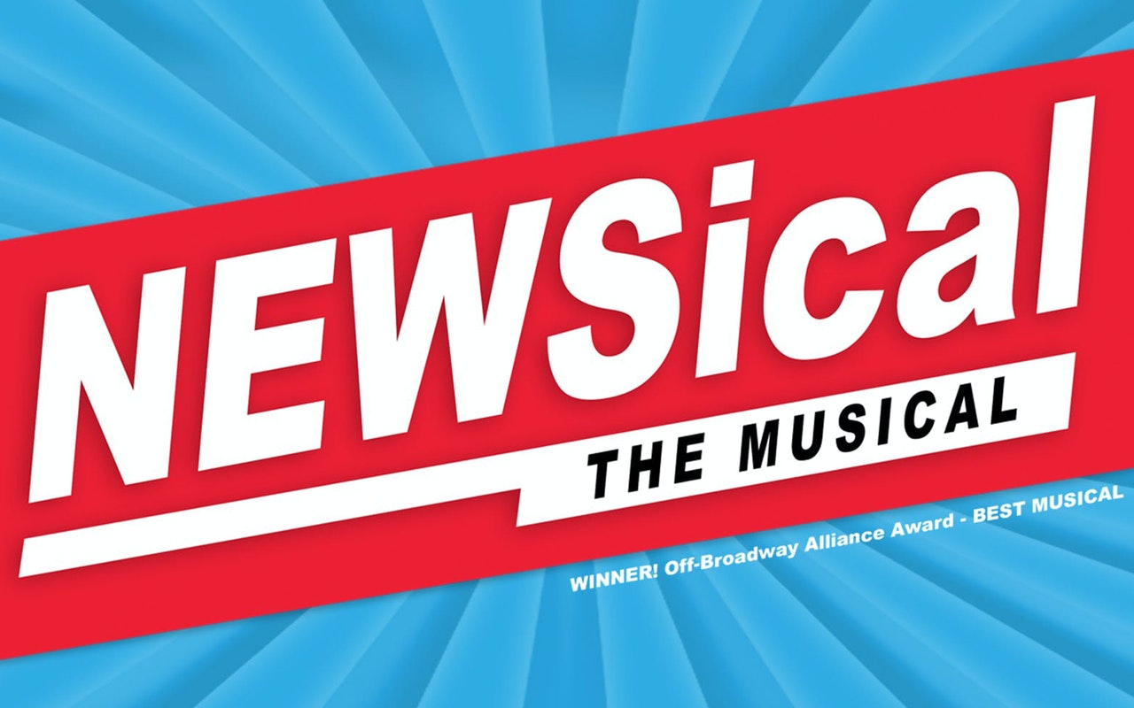 NEWSical The Musical Show Cover Photo