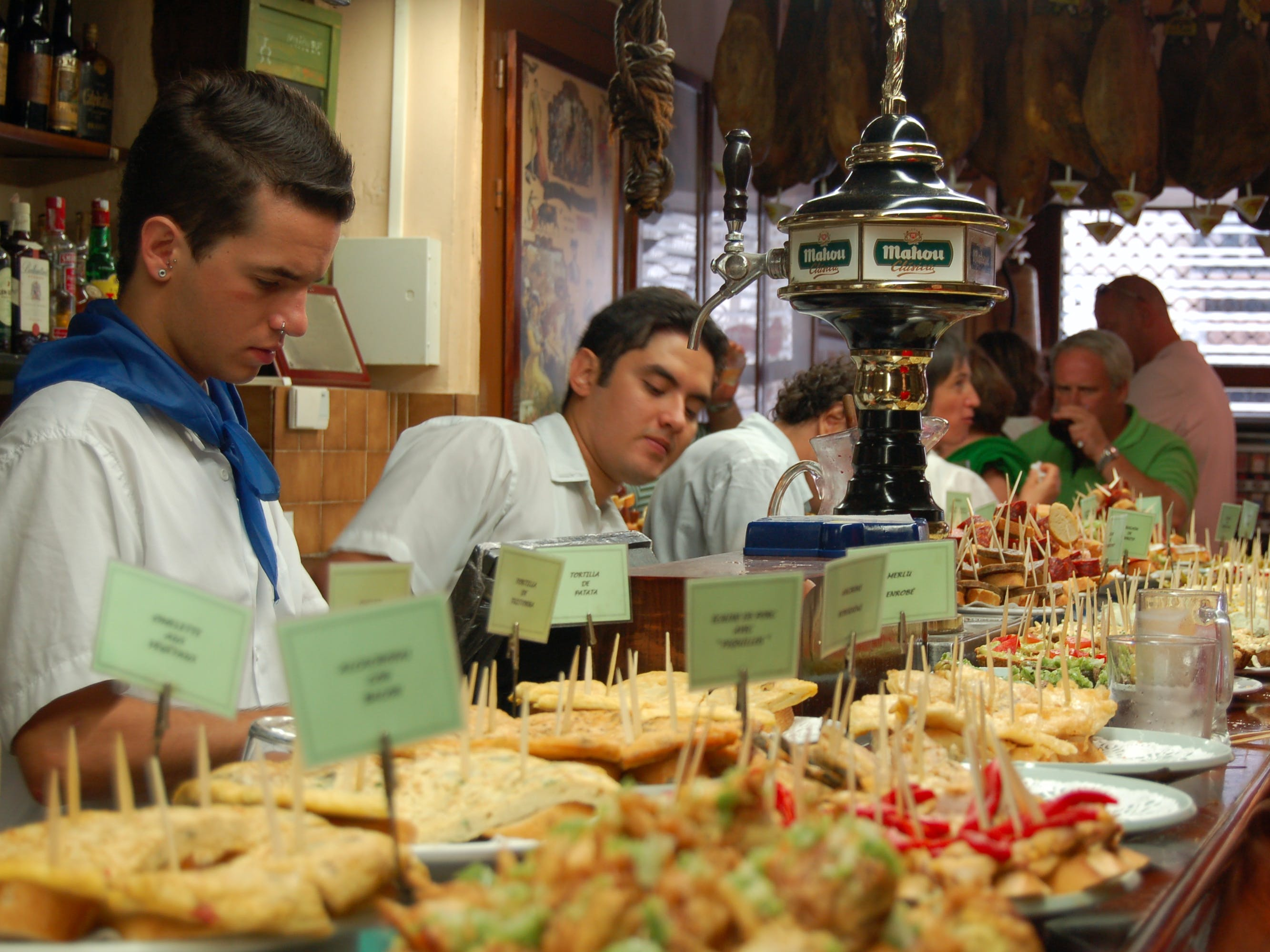 Savoring Madrid: Tavernas and Tapas