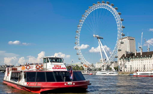 River Thames Unlimited Hop on Hop Off Cruise