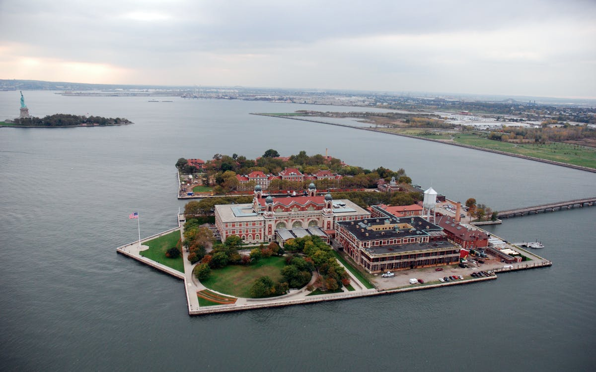 Ellis Island Hospital Tour Statue Cruises