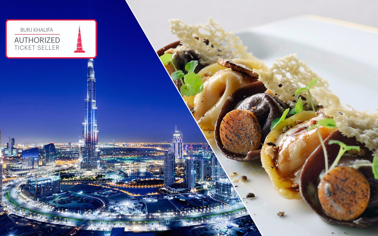 Burj Khalifa: At the Top e pranzo a tre portate all'hotel Armani