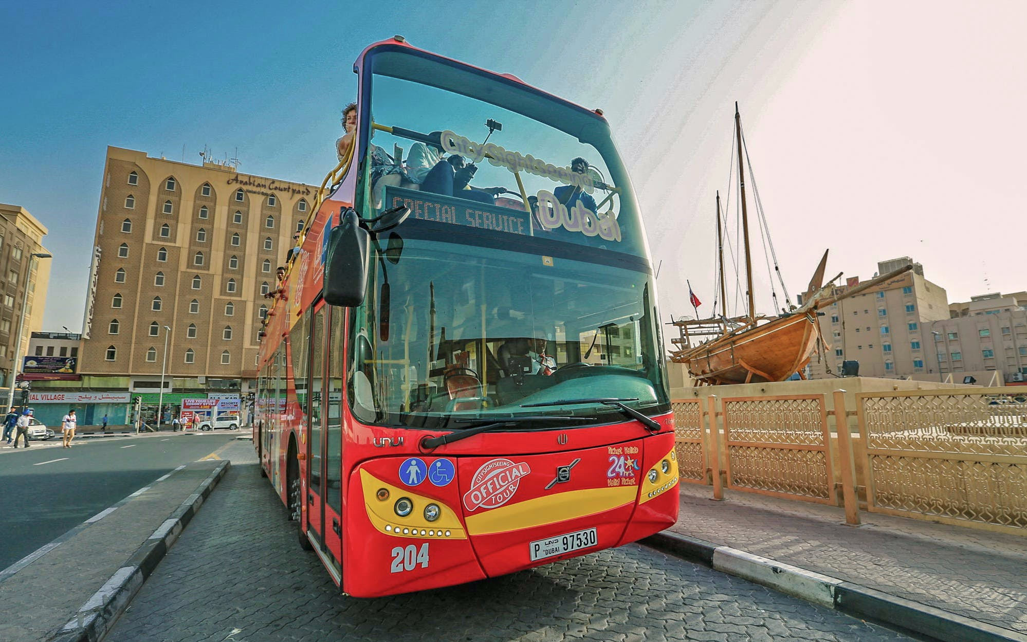 City Sightseeing Dubai Hop-On Hop-Off Day Tour