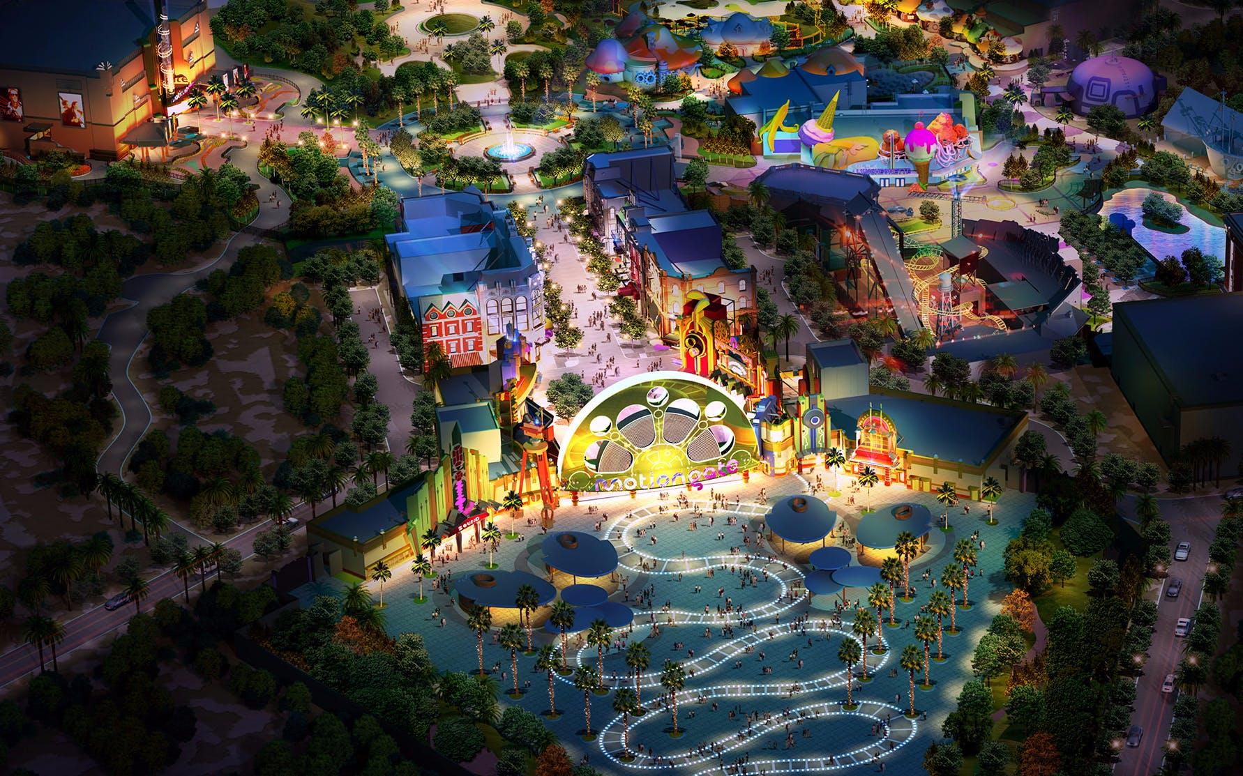 Best Theme Parks in Dubai - Motiongate Dubai - 2