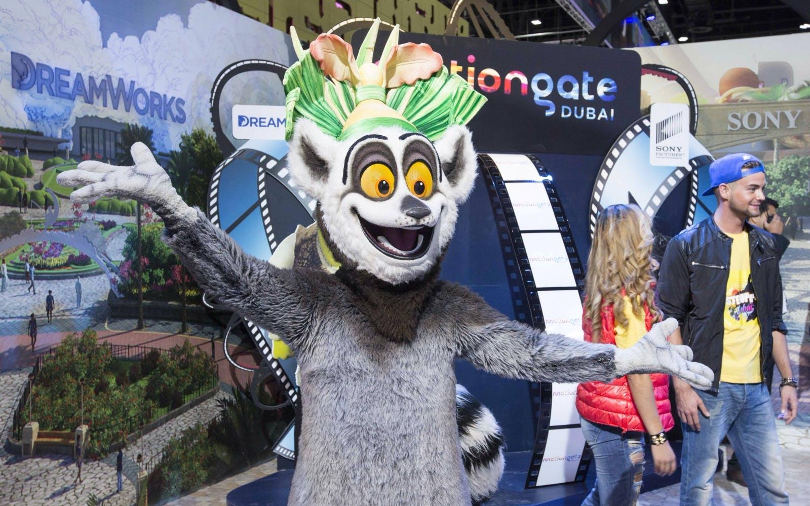 Best Theme Parks in Dubai - Motiongate Dubai - 1