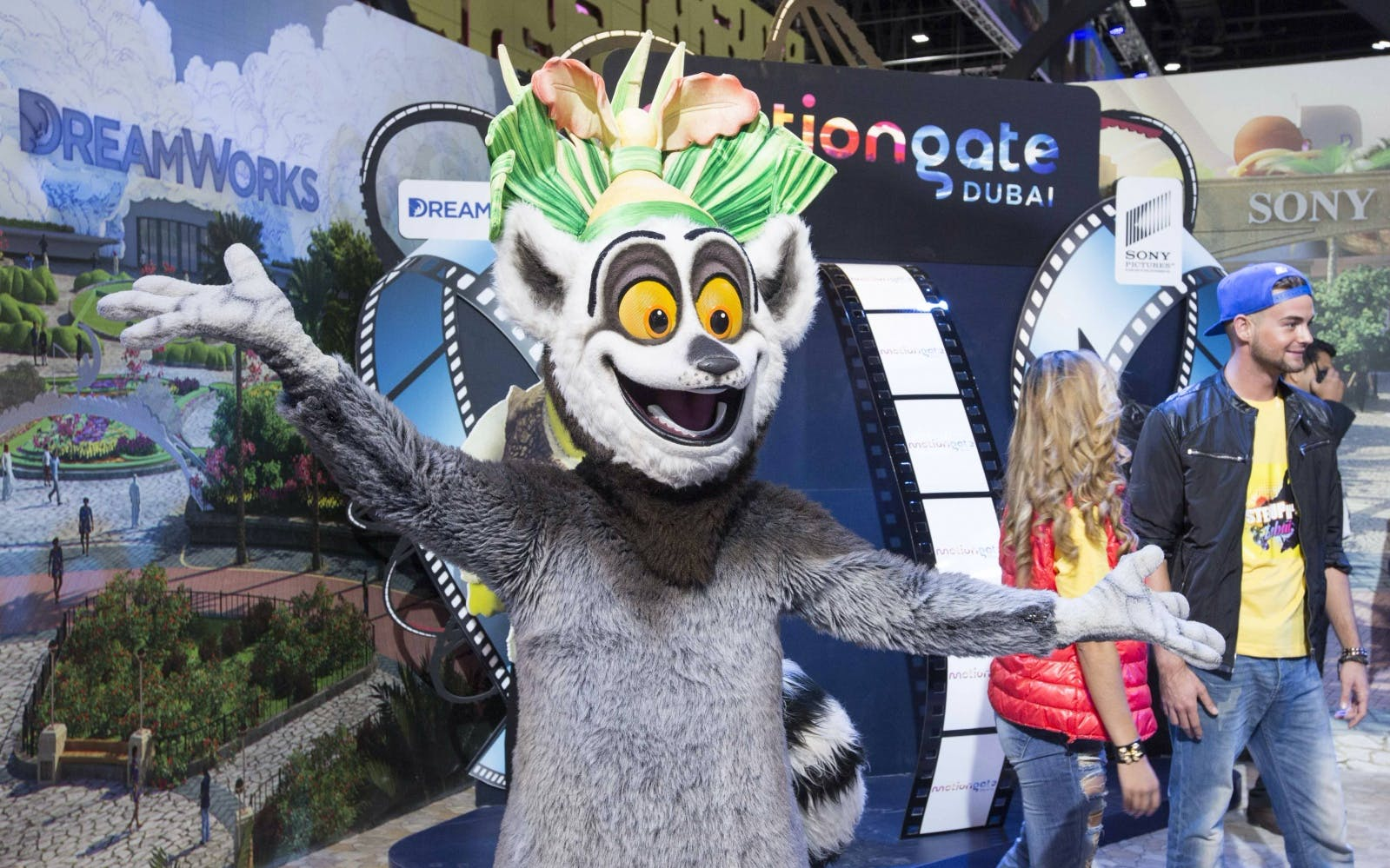 Best Theme Parks in Dubai - Motiongate Dubai - 1