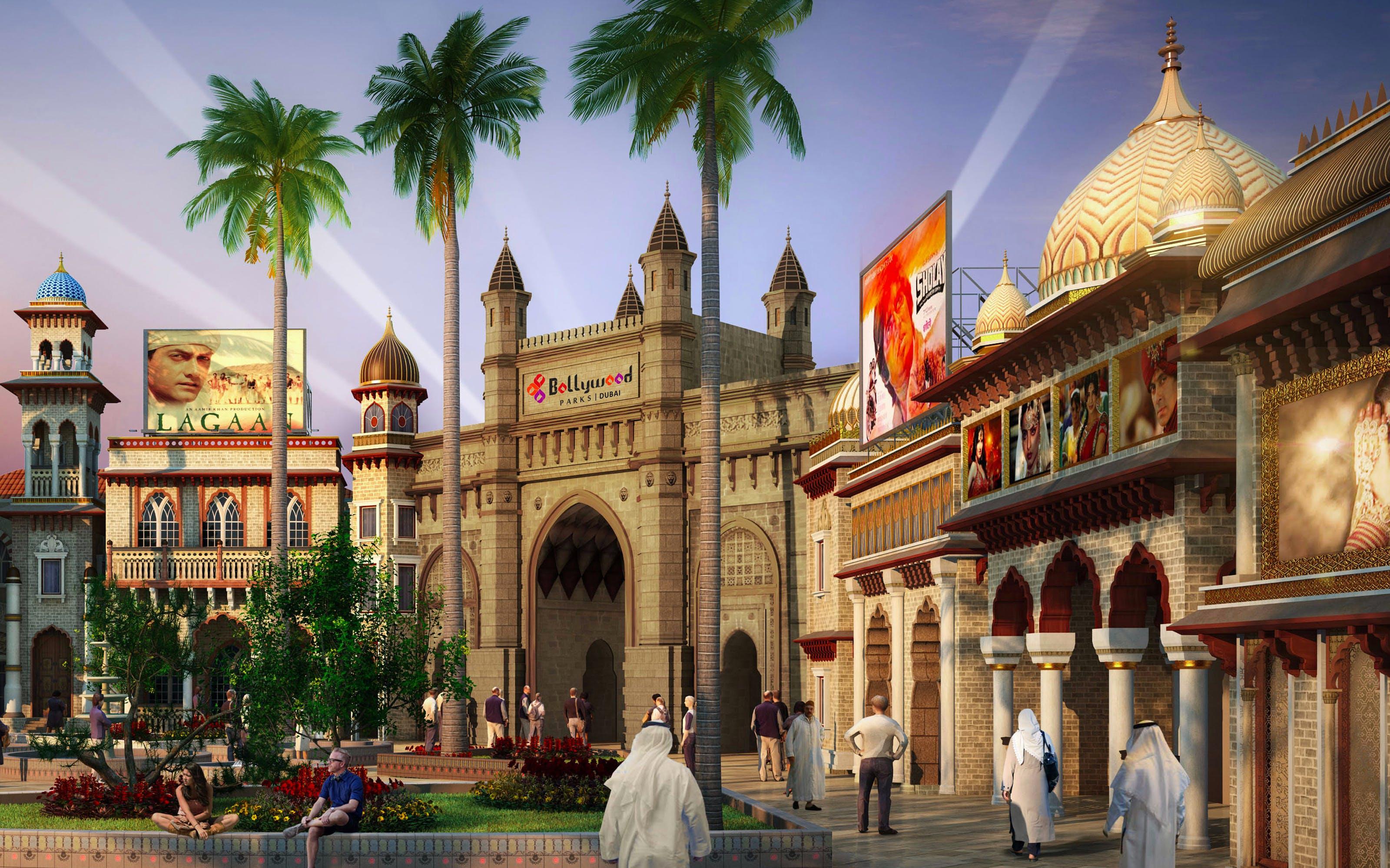 Best Theme Parks - Bollywood Park Dubai -1