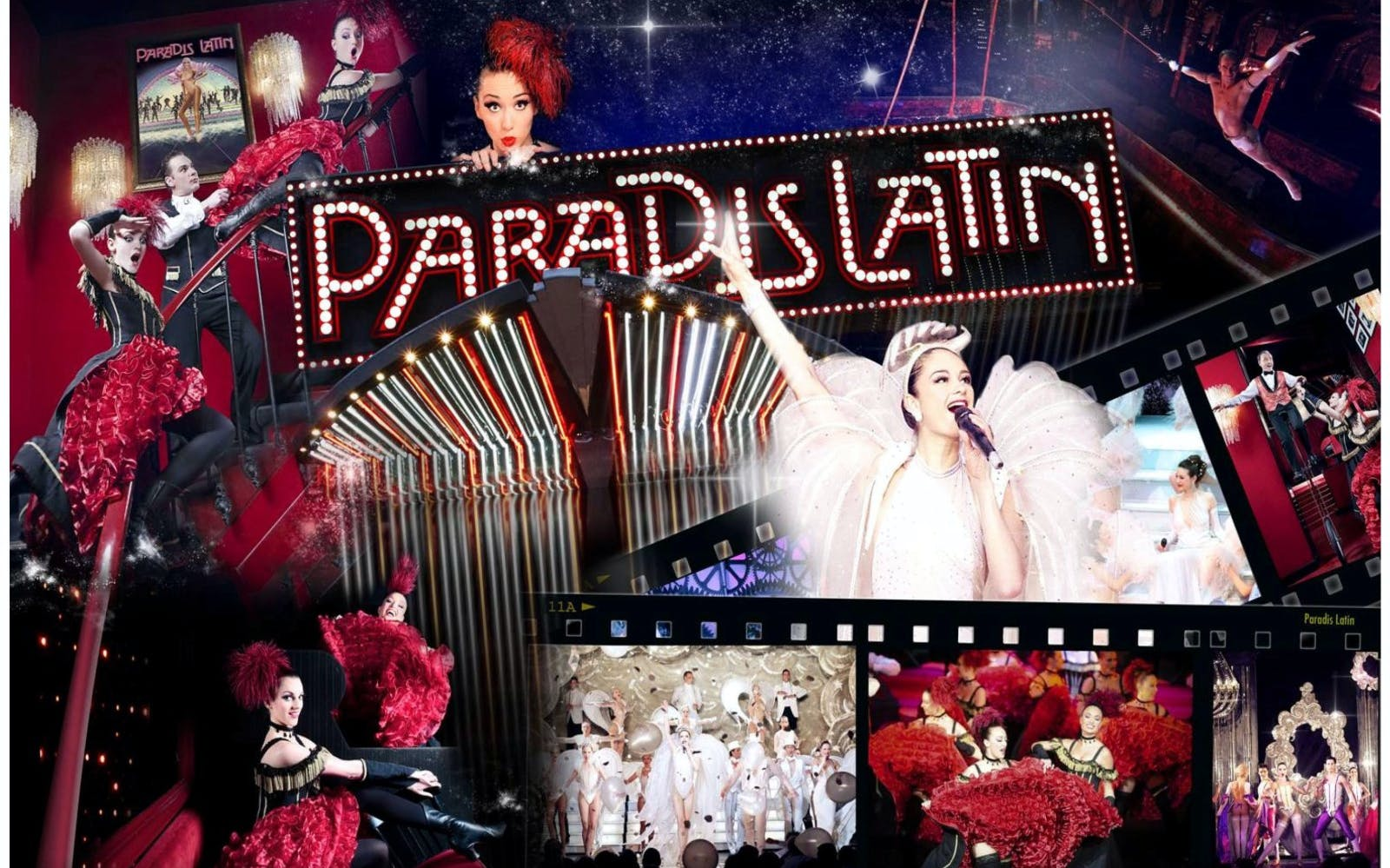 paradis latin show with champagne -3